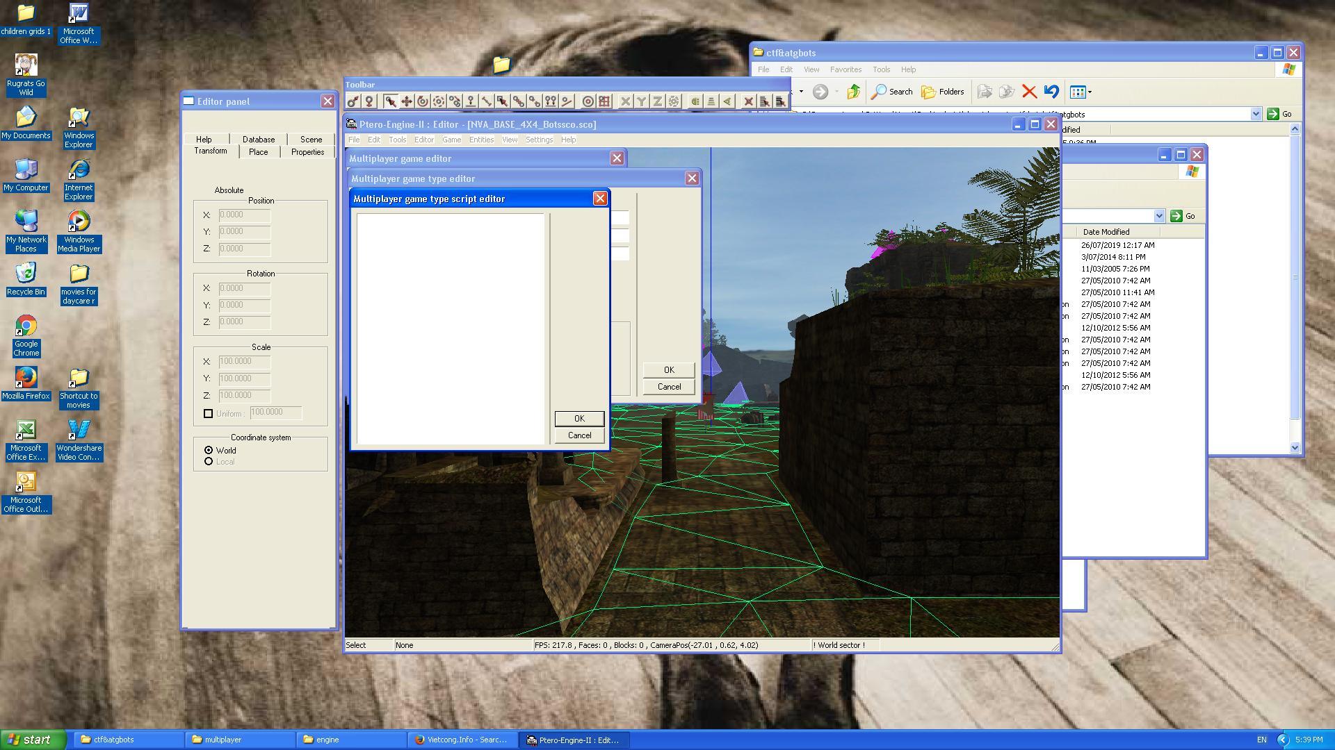 Vietcong Info - Discussion Forum: Multiplayer Game Script